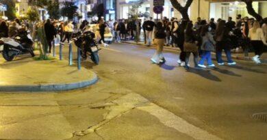 Θεσσαλονίκη: Επέμβαση της ΕΛ.ΑΣ. για τις εικόνες συνωστισμού στο κέντρο της πόλης