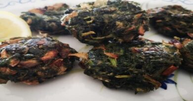 Παραδοσιακή Συνταγή. Πιταρούδια Χίου ,οι χορτοκεφτέδες του νησιού μας. (Νηστίσιμα χωρίς αυγά και τυρί).