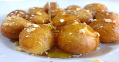 Παραδοσιακή συνταγή: Λουκουμάδες με μαστίχα Χίου.